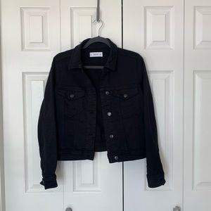Mango Black Jean Jacket